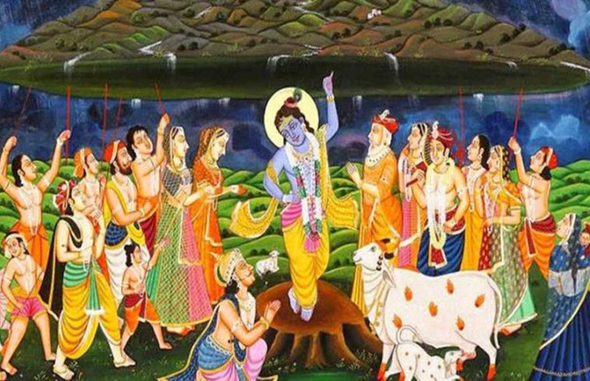 Govardhan Puja 2020 Mantra, Aarti, Vidhi in Hindi