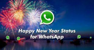 Happy New Year WhatsApp Status 2021