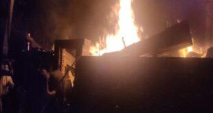 Fire In Wood Shop Loss Of 1.5 Million – कानपुर : लकड़ी की दुकान में लगी आग, 15 लाख का नुकसान