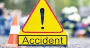 Road Accident In Chitrakoot, Six Injured – चित्रकूट में सड़क हादसा : नील गाय को बचाने में वैन पलटी, छह यात्री घायल