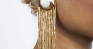 Gold Tassel Earrings | Quick Shipping