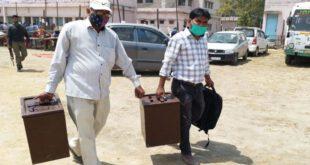 Panchayat Election 2021: Polling Parties, Coronavirus – कानपुर पंचायत चुनाव: अफरा-तफरी के बीच रवाना हुईं पोलिंग पार्टियां, कोरोना से बचाव को लेकर भी चौकसी नहीं दिखी