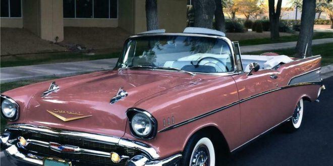 1957 CHEVROLET BEL AIR CUSTOM CONVERTIBLE – Barrett-Jackson Auction Company – World's Greatest Collector Car Auctions