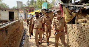 Police – पैदल मार्च कर दिलाया सुरक्षा का एहसास